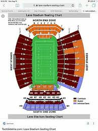 4 Football Tickets Virginia Tech Hokies Vs Duke Blue