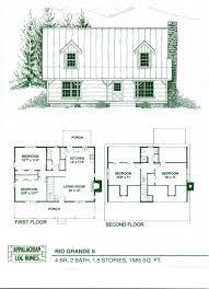 1 bedroom log cabin floor plans craftsman 1 story retreat open floor