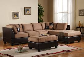 Leather Couch Decorating Living Room Light Brown Sofa Decorating
