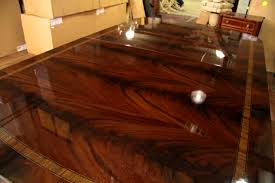large foot dining table