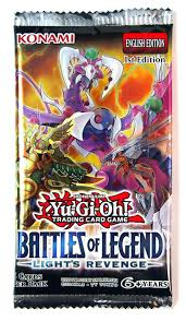 Battles Of Legend Light S Revenge Yu Gi Oh Battle Of Legend Lights Revenge Booster Pack