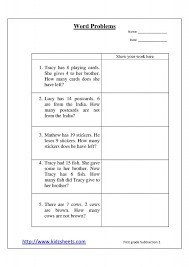 Grade Free Printable 5th Grade Math Worksheets Word Problems ...
