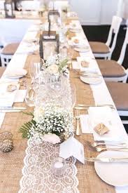 round table runner burlap table runners for inch round tables a wedding with a view and