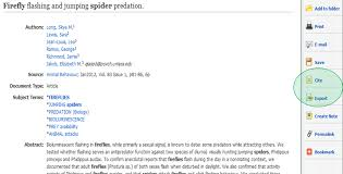 avoid plagiarism apa citation style firefly and spider search result screen shot