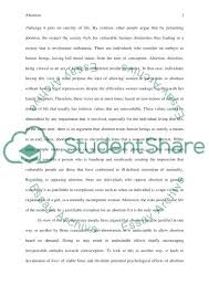argumentative essay example on abortion essay using abortion essay  argumentative