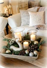Decorating With Trays On Coffee Tables Coffee Table Fascinating Love This Wooden Box Filled With Christmas 80