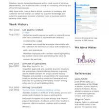 Quality Analyst Cv Qa Analyst Resume Template Using Qa Analyst Resume Sample