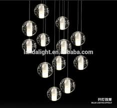 alluring glass ball pendant light whole boccidesgin crystal glass ball pendant lighting