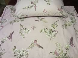 dunelm beautiful birds king size duvet cover and 2 pillow cases