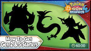Pokemon Sun and Moon - Island Scan For Gen 2 & 5 Starters! [SM Tips &  Tricks] - YouTube