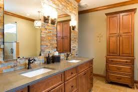 rustic stone bathroom designs. bathroom rustic stone designs modern double sink l