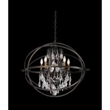 troy lighting crystal orb chandelier pendant light f2996 hover or to zoom
