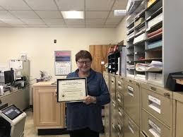 Rockland town clerk receives certification from statewide ...