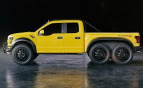 Hennessey Reveals $295K VelociRaptor 6×6 Pick-up, 'One of the Best ...