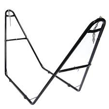 steel hammock stand. Interesting Hammock SunnydazeUniversal MultiUse HeavyDuty Steel Hammock Stand Inside E