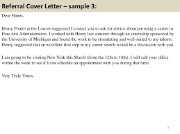 Cover Letter Examples With Referral 10 Cover Letter Samples Pdf Ebook Free Download