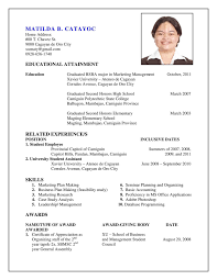 Make My Resume Sample Resume