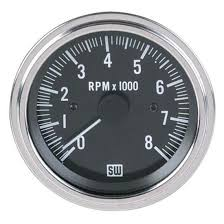 stewart warner 82170 deluxe tachometer electric 3 3 8 inch stewart warner 82170 deluxe tachometer electric 3 3 8 inch
