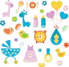 Stickers per bambini nascita livingdeco