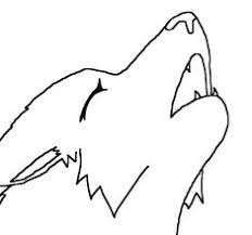 wolf howling drawing anime. Brilliant Drawing How To Draw A Wolf Howling On Drawing Anime