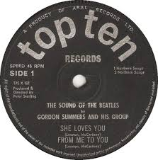 45cat - Gordon Summers And His Group - The Sound Of The Beatles - Top Ten -  UK