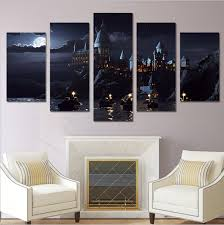 home office decor room. Harry Potter School Castle Hogwarts Home Office Decor Wall Pictures For  Living Room/Office Room Home Office Decor Room