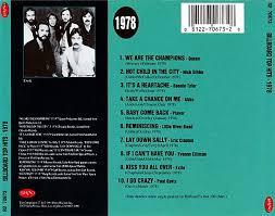 Billboard Charts 1978 Top 100 Musik Billboard Top Hits 1978 1991