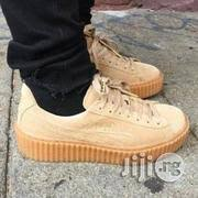 puma shoes fenty for men. brown puma fenty creeper sneakers - unisex | shoes for sale in lagos, lagos island men