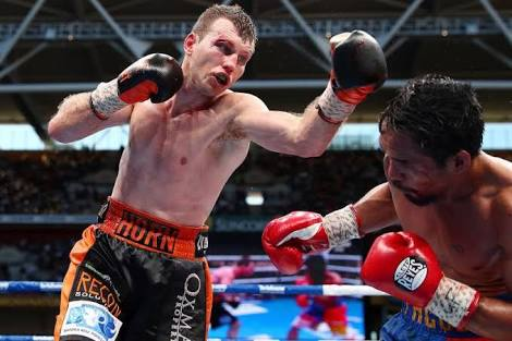 Jeff Horn Working Towards A Potential Conor McGregor Fight