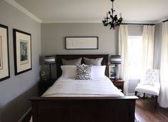 white bedroom with dark furniture. Perfect With Add A Touch Of Red And This Is How I Want Our Bedroom To Look That  The Chair Would Be Black Instead White Intended White Bedroom With Dark Furniture U