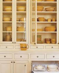 Dish Display Cabinet Organized Kitchens Martha Stewart