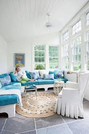 White Sunroom Livingroom
