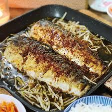 Last nights Korean Grilled Mackerel ...
