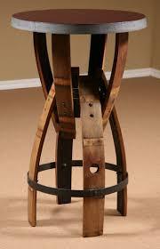 used wine barrel furniture. Wine Barrel Furniture | Stave Furniture, Bar Height Table, Stool, Used T