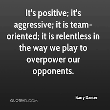 Positive Team Quotes Mesmerizing Barry Dancer Quotes QuoteHD