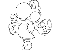 Pictures Of Mario And Yoshi Coloring Pages Rock Cafe