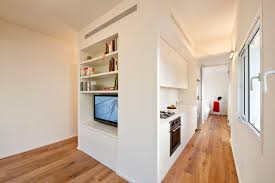 Pretty White Wall Color For Built In Cabinet Panels In Space ...