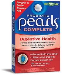Enzymatic Therapy <b>Probiotic Pearls Complete</b> Digestive Health ...