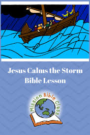 This episode is distinct from jesus' walk on water, which also involves a boat on the lake and appears later in the narrative. Jesus Calms The Storm Mission Bible Class