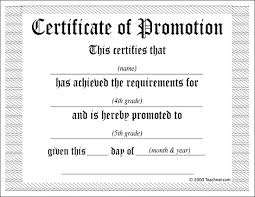 Promotion Certificate Template Ideas Collection For Certificate Of Promotion Template About
