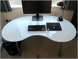 l shaped glass desk ikea kidney shape glass desk l shaped glass top desk ikea