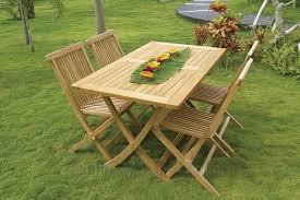 Tavolo In Teak Manutenzione : Tavolo singaraja teak rettangolare pieghevole centro mobili giardino