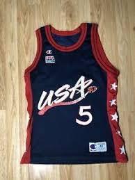 Details About Rare Vintage Grant Hill Usa Olympic Nba Champion Jersey Size 40 5