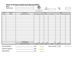 Bank Reconciliation Template Credit Card Reconciliation Unsw Form How To Do In Excel