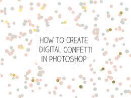 Confetti Brush Photoshop Create A Confetti Brush In Photoshop Photoshop Basic