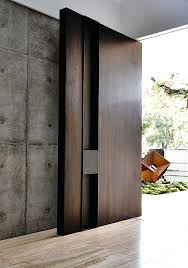 modern residential front doors. Contemporary Modern Front Doors Door With Wood Accents Residential Entry