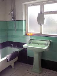 bathroom green
