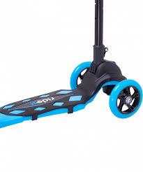 <b>Самокат</b> 3-х колесный <b>RIDEX 3D Robin</b> (120/90 мм), голубой ...