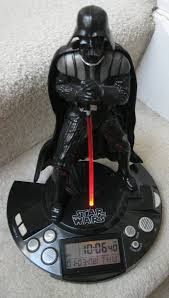 i am pleased to offer this great star wars darth vader radio alarm clock clock is made by jazwares inc china clock works great 3 fresh batteries