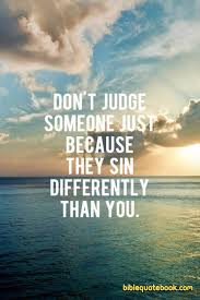 Image result for christians judging people